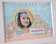 Atelier: Mixed media pe un tablou personalizat, 3D