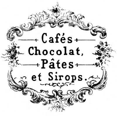chocolat+cafe+vintage+graphicsfairy3bwm