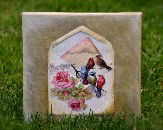 Tutorial- decoupage 3D